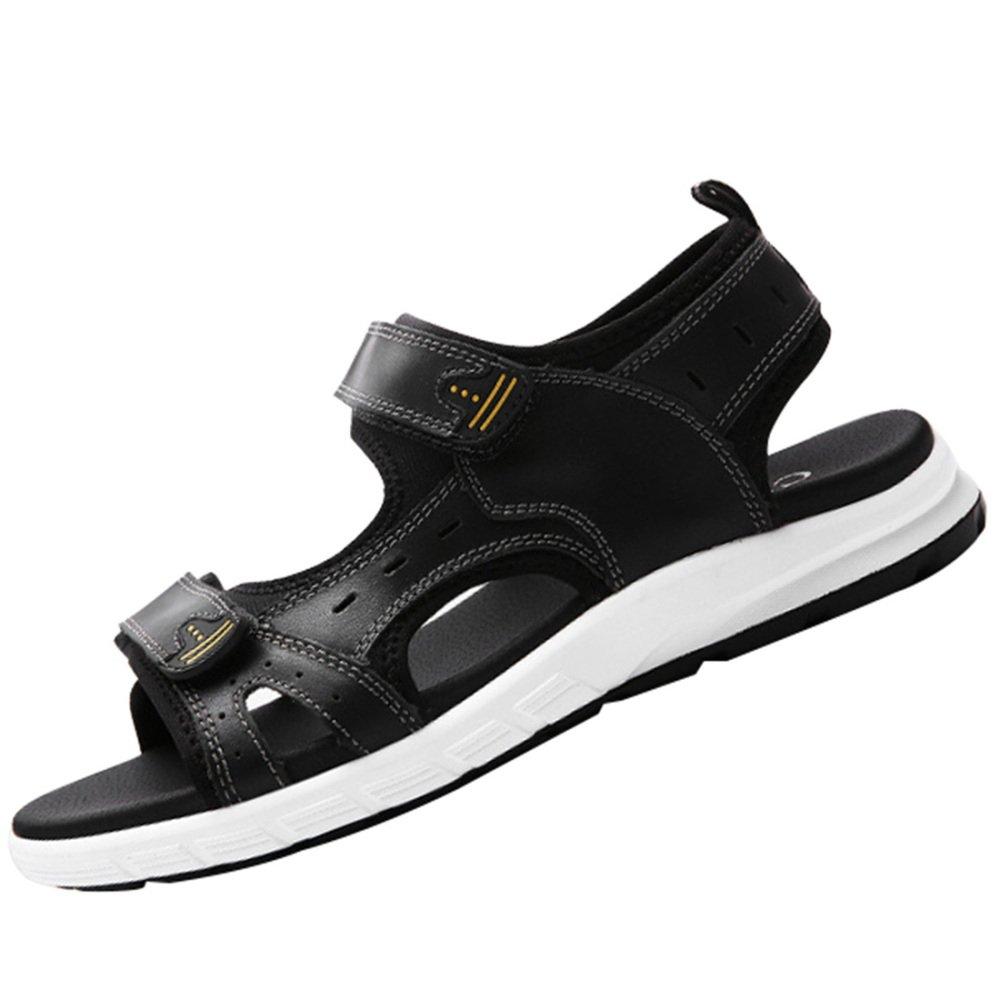 Sandalias De Verano De Los Hombres Zapatos De Playa Al Aire Libre Casual Moda Deportes 40 EU Black