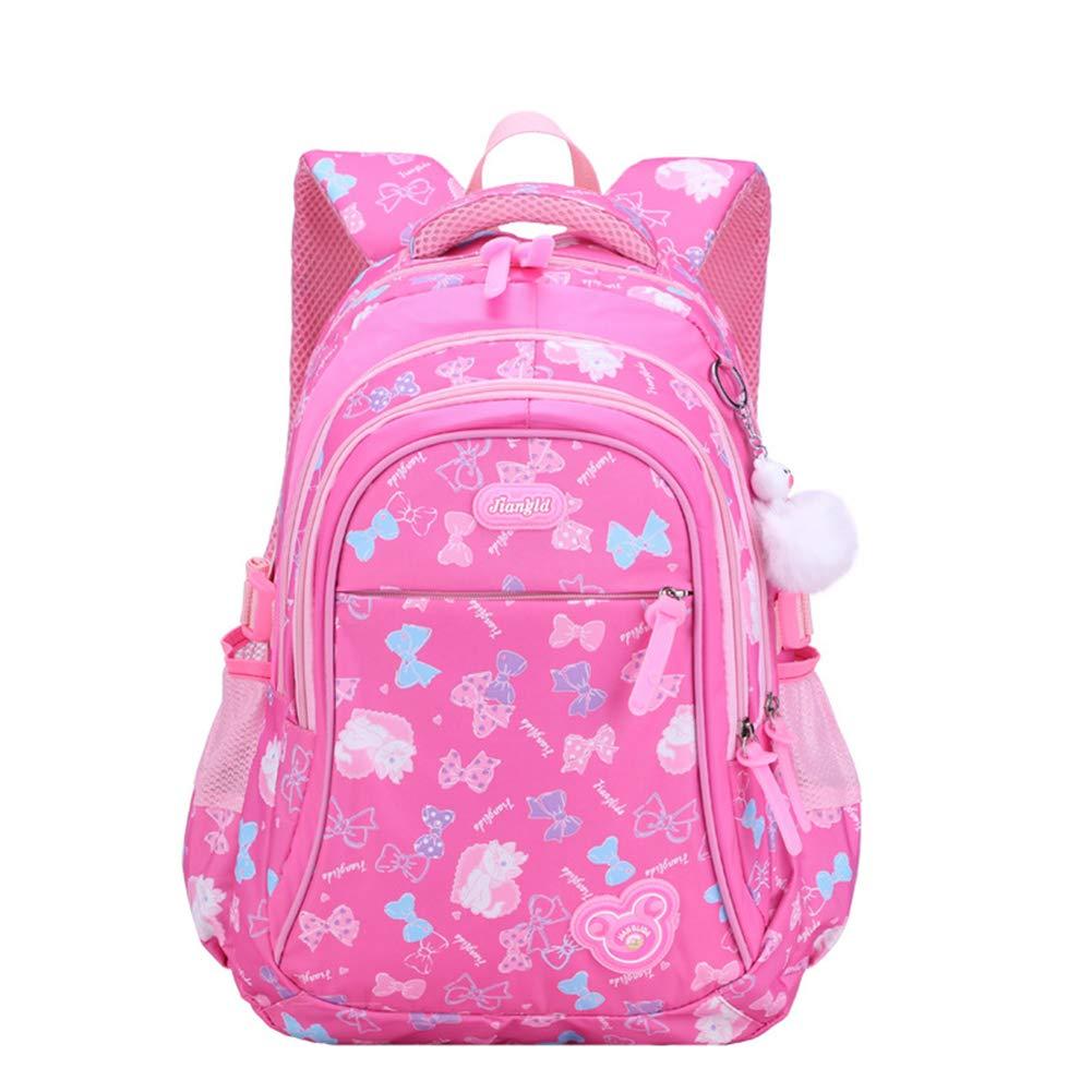 Cadeaux Backpack Sac à Dos Enfant en Nylon Cartable Scolaire Fille Ecole Loisir Voyage Cartable à Dos Primaire Maternelle Bleu foncé