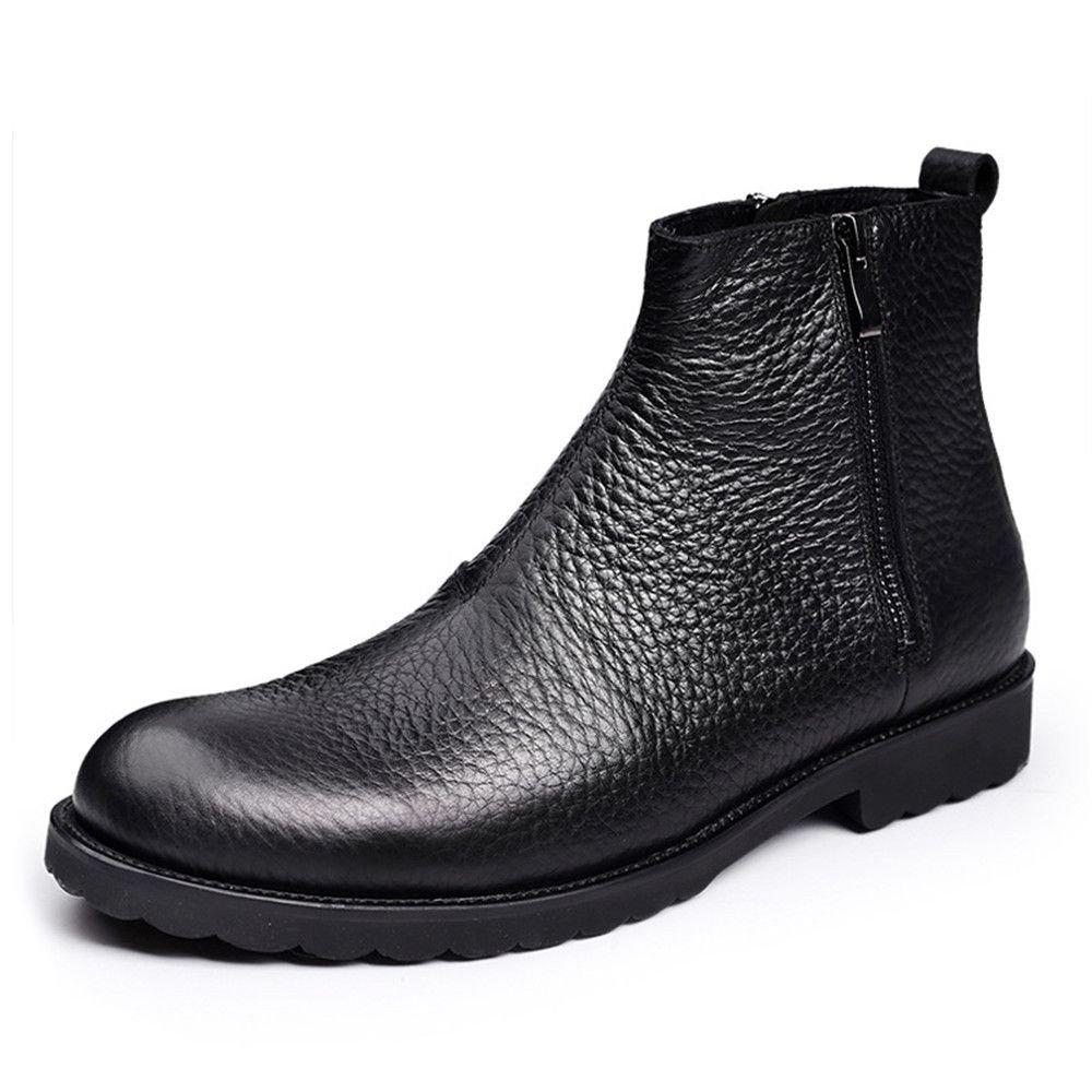 Männer - stiefel aus england chelsea - stiefel, schuhe mit reißverschluss,schwarz,41