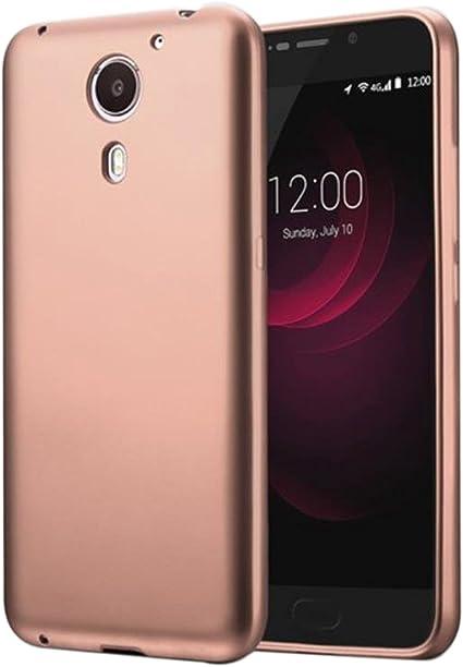 Guran® Silicona Funda Carcasa para UMI Plus Smartphone TPU Bumper Shock Case Cover-Rosa: Amazon.es: Electrónica