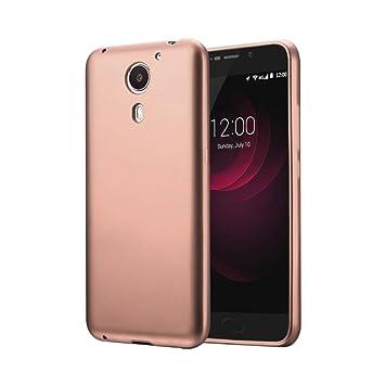 Guran® Silicona Funda Carcasa para UMI Plus Smartphone TPU Bumper Shock Case Cover-Rosa