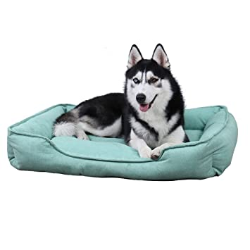 Amazon.com: PAWZ Road - Cama rectangular para perro, para ...