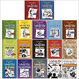 Amazon Com Diary Of A Wimpy Kid The Ultimate Complete 17 Books Collection Set By Jeff Kinney The Meltdown Wrecking Ball Movie Diary Movie Diary The Next Chapter Hardcover 9789123925872