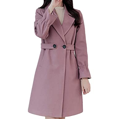 c800539b830e4 Image Unavailable. Image not available for. Color: POTO Women Coats  Clearance,Womens Vintage Winter ...