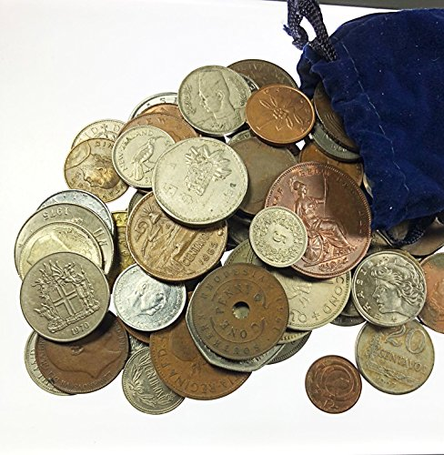 unknown 2000 & Earlier 1 Pound of Foreign Coins Circulated