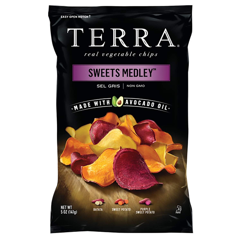 Terra Sweets Medley Vegetable Chips, 5 Oz (Pack of 12)