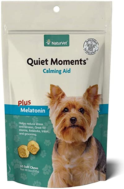 NaturVet Quiet Moments Calming Aid Dog Supplement
