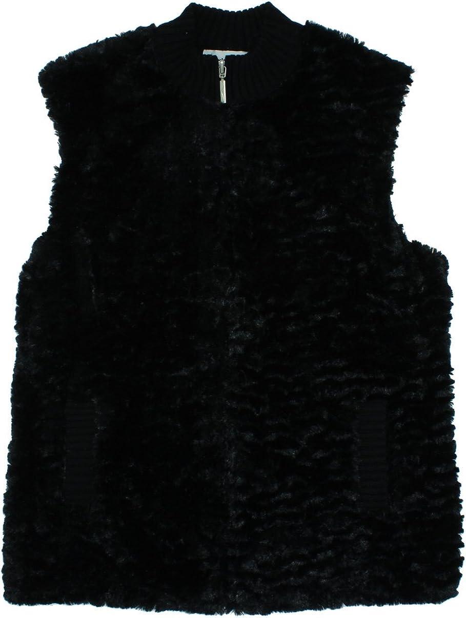 Alfred Dunner Classics Faux Fur Vest