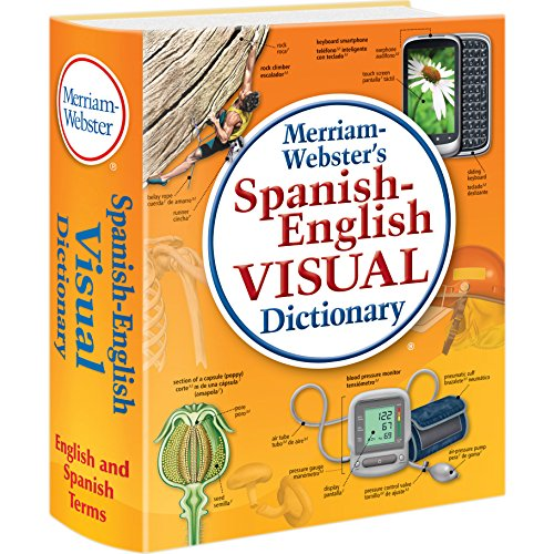 anish-English Visual Dictionary, Newest edition, flexi paperback (English and Spanish Edition) ()