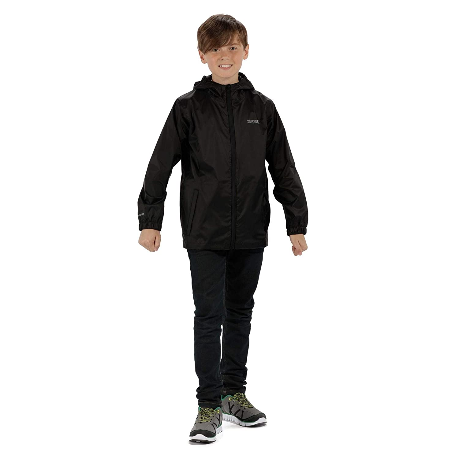 Regatta Kid PK It JKT III Childrens Waterproof Jacket Childrens