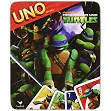 UNO Card Game in Tin Box: TMNT Teenage Mutant Ninja Turtles