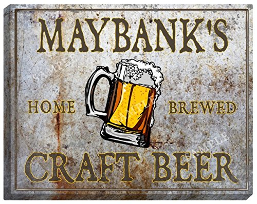 maybanks-craft-beer-stretched-canvas-sign