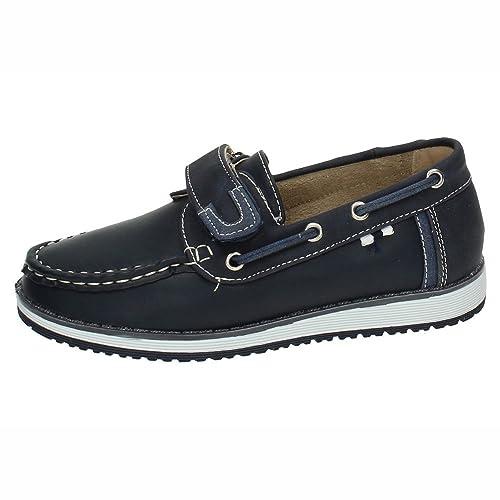 BONINO NS599A-18 Mocasines Azules NIÑO Zapatos MOCASÍN Azul 22: Amazon.es: Zapatos y complementos