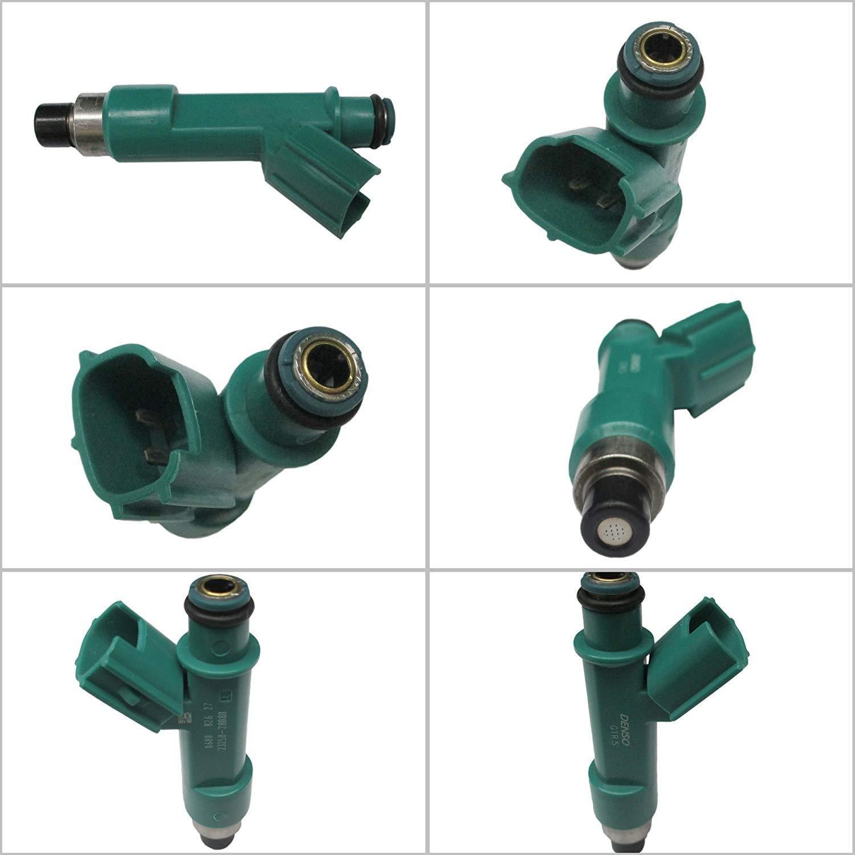 4x High Performance Fuel Injectors for Camry//Rav4//Solara//Highlander 2.4L 23250-28080