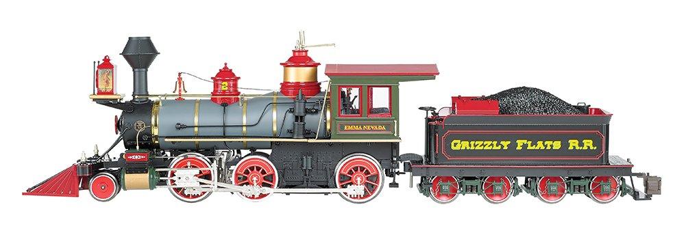 Train Locomotive 260 DCC Locomotive Grizzly Flats (Emma Nevada) Large Scale 1:20.3