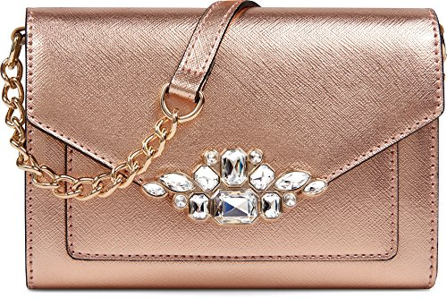 Gold Jeweled Bag - 1