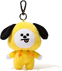 BT21 Official Merchandise by Line Friends - CHIMMY Character Doll Keychain Ring Cute Handbag Accessories