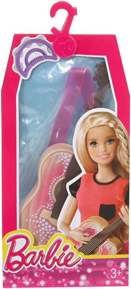 Barbie Cfb53 Musique Temps Lot d'accessoires