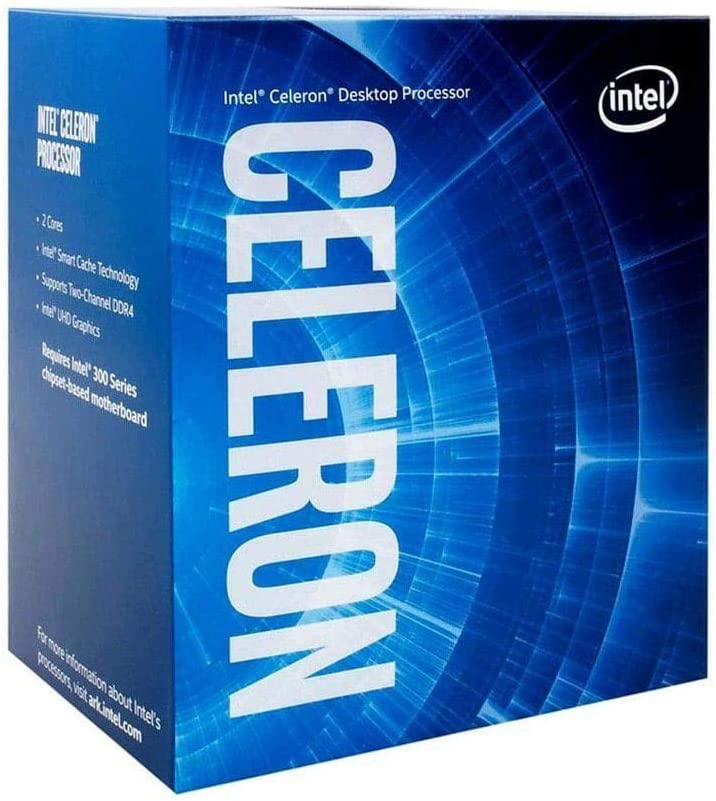 Intel Celeron G-5900 Desktop Processor 2 Cores 3.4 GHz LGA1200 (Intel 400 Series chipset) 58W, Model Number: BX80701G5900