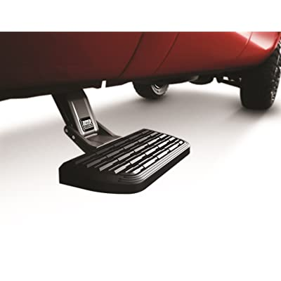 AMP Research 75400-01A BedStep2 Retractable Truck Bed Side Step for 1999-2013 Silverado & Sierra (All Beds): Automotive