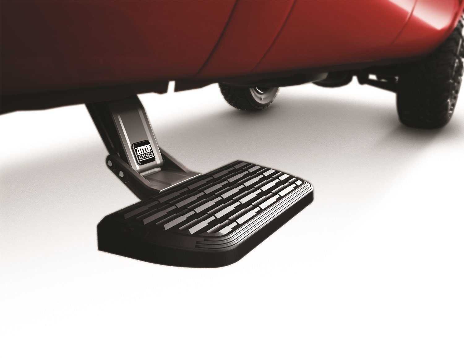 AMP Research 75403-01A BedStep2 Retractable Truck Bed Side Step for 1999-2016 Ford F-250//F-350 All Beds 2008-2016 Ford F-450//F-550