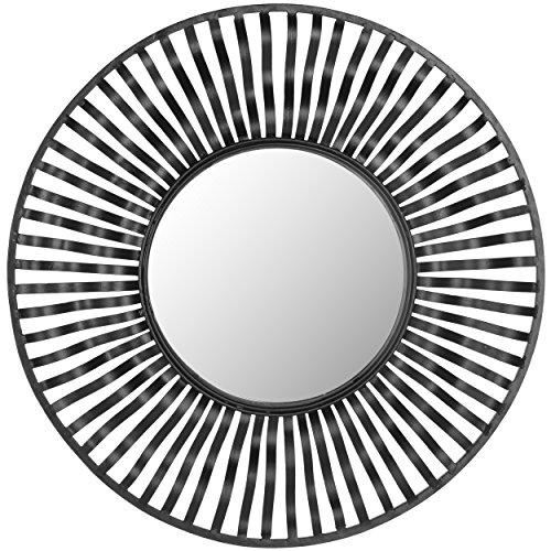 Safavieh Home Collection Swirl Mirror, Black
