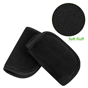 Accmor Baby Car Seat Strap Covers, Car Seat Strap Pads, Baby Seat Belt Covers, Stroller Belt Covers, Baby Head Support, Baby Shoulder Pads, Made of Soft Fluff