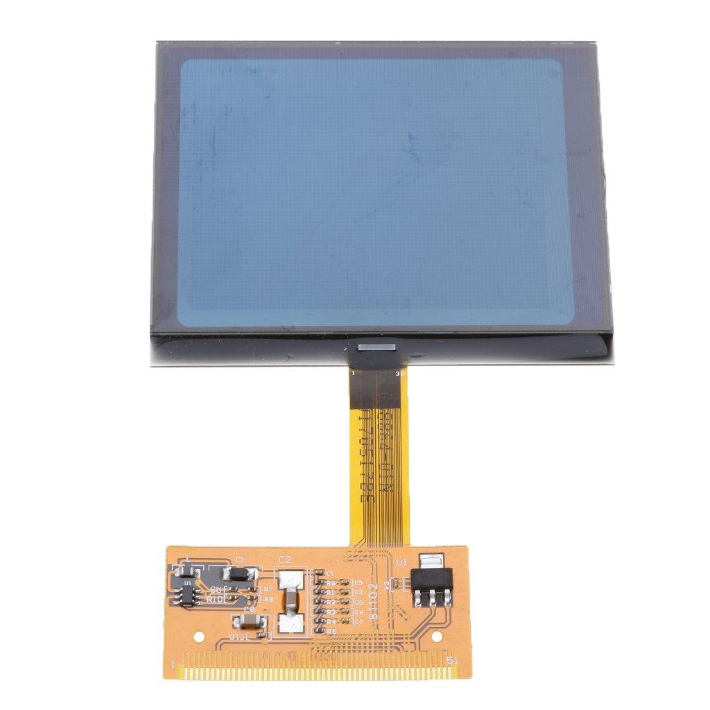 Baosity LCD Repair Cluster Speedometer Display Screen For Audi A6 C5 4B Series