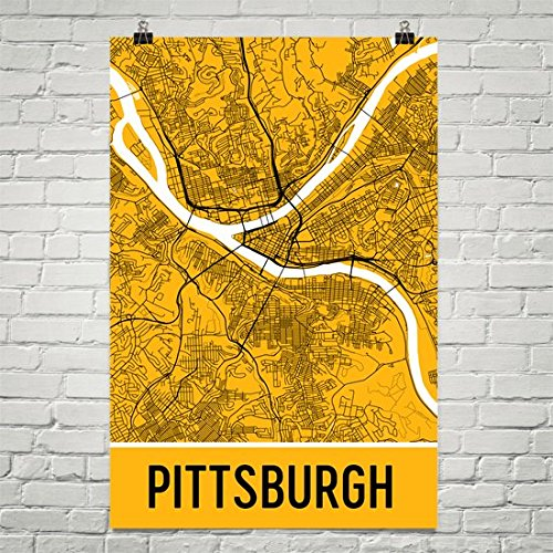 pittsburgh posters city