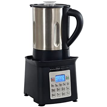 KitchenChef XJ003 Batidora de vaso 3L 1500W Negro - Licuadora (3 L, Botones, LCD, Batidora de vaso, Negro, De plástico): Amazon.es: Hogar