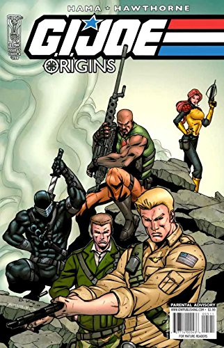 G.I. JOE ORIGINS (2009) #5 FN/VF COVER A LARRY HAMA IDW