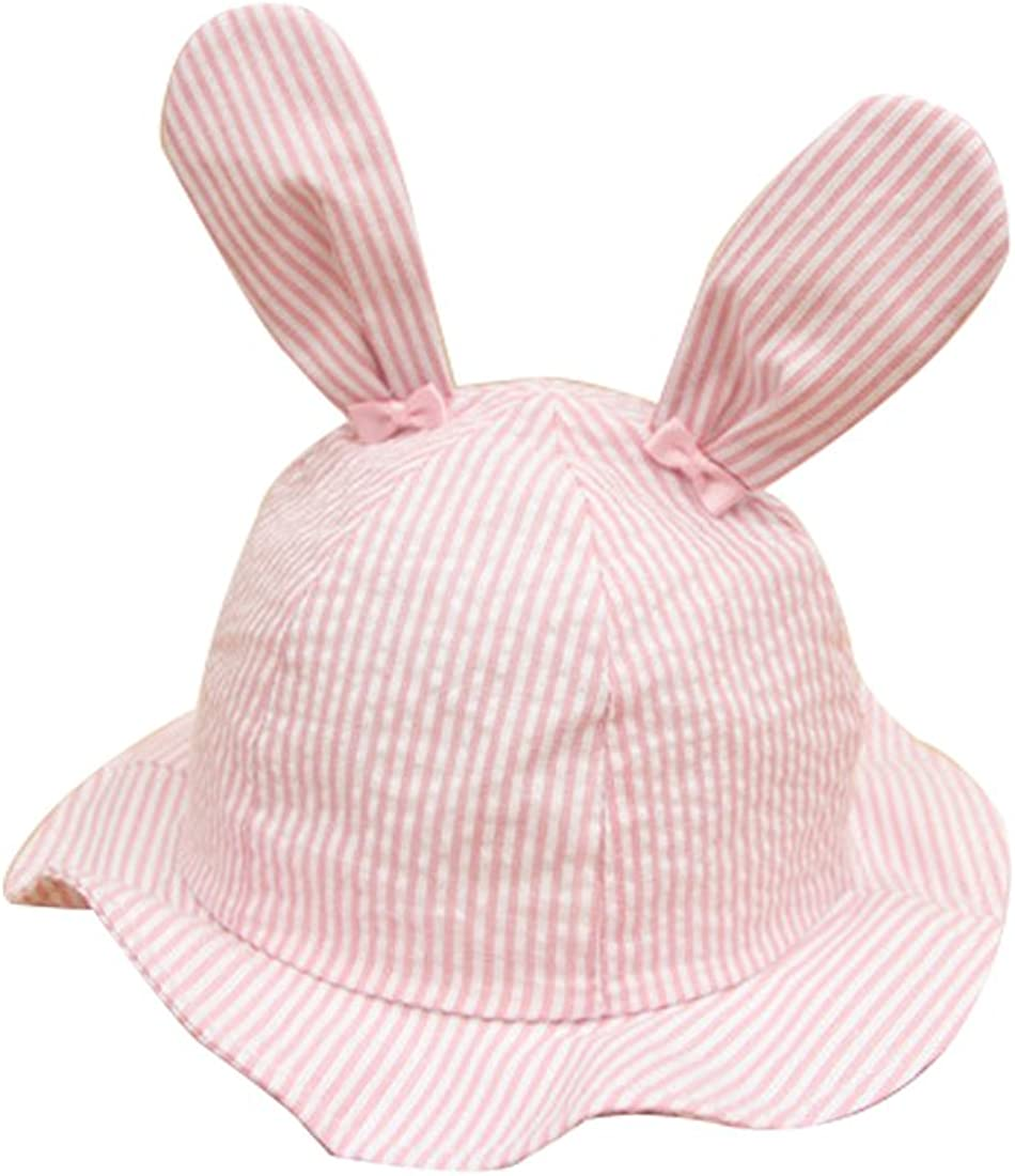 Toddlers Baby Cartoon Rabbit Ears Princess Large Wide Sun Protection Hat 61qHosmwiNL