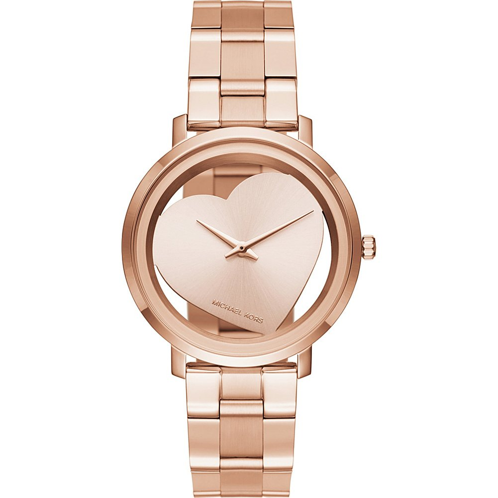 Amazon Com Michael Kors Women S Jaryn Rose Gold Tone Watch Mk3622