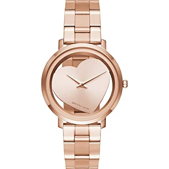 9e40ac084392 Image Unavailable. Image not available for. Color  Michael Kors Women s  Jaryn Rose Gold-Tone Watch MK3622