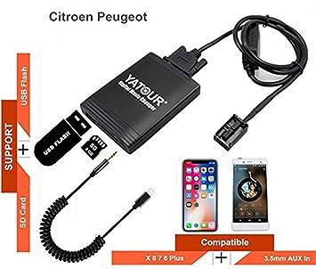 Fantastic Rd4 Peugeot Citroen Rt3 Can Bus Iphone Stereo Aux Amazon De Elektronik Wiring Digital Resources Jebrpkbiperorg