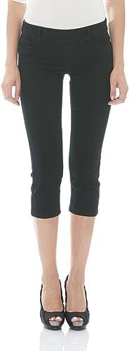 Suko Jeans Women's Denim Capris - Pull On – Stretch