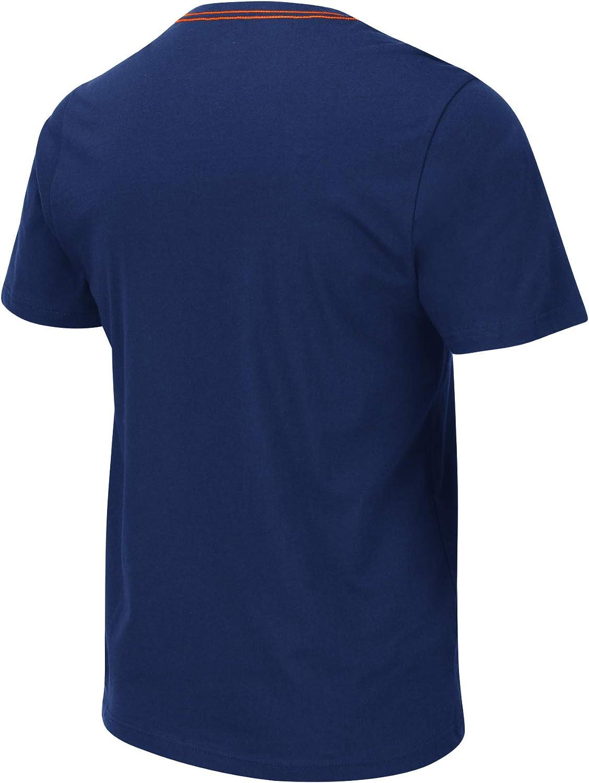 Colosseum Mens NCAA Loud and Proud-100/% Cotton T-Shirt-Team Colors