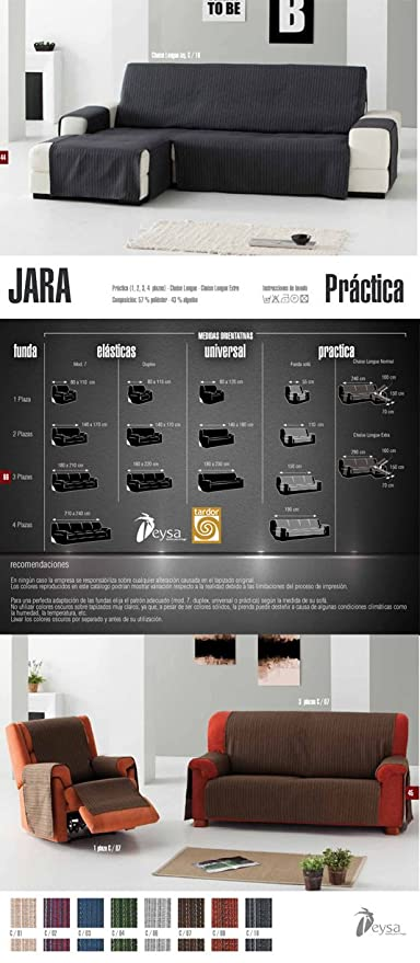 Colorintex - Eysa - Fundas de Sillas y Sofas - Jara Practica ...