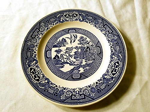 Blue Willow Dinner Plate Willow Ware by Royal China E52 (Royal Blue Willow)