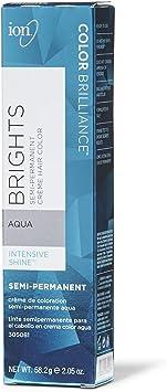 Ion Color Brilliance Semi-Permanent Brights Hair Color Aqua by Ion