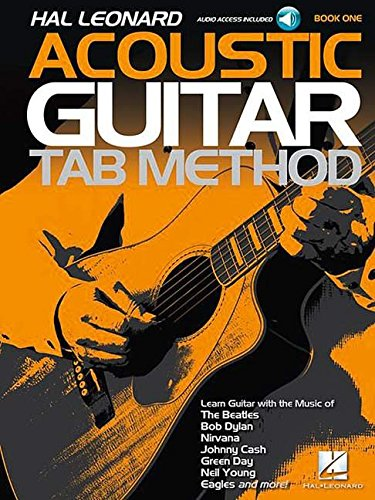 - Hal Leonard Acoustic Guitar Tab Method - Book 1: Book with Online Audio
