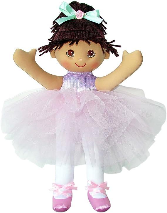 Anico Debbie Dancer Hispanic Plush Doll, 18