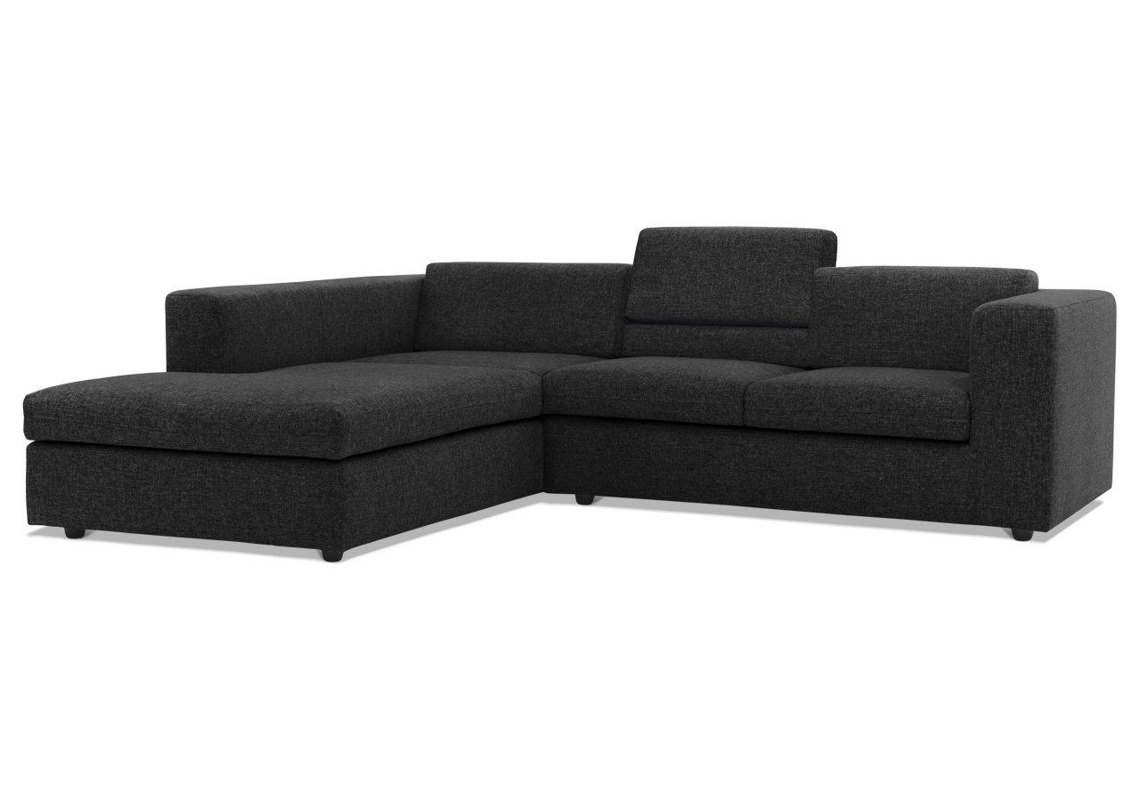 Elegant Sofa Mit Verstellbarer Rückenlehne Foto Von Avandeo - Largo R - Stoff -