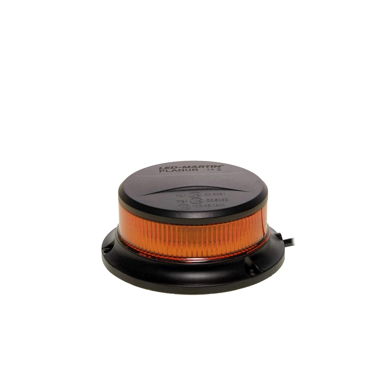 LED-MARTIN Zusatzkennleuchte PLANUR mit Magnetfu/ß gelb