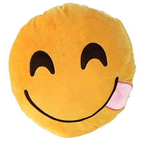Amazon.com: Smile YKK 32 cm dibujos animados Emoticono ...