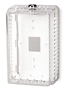 Universal Thermostat Guard, Clear, Plastic