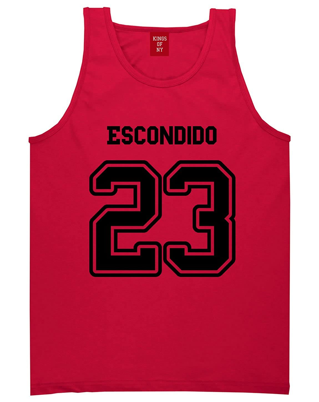 Sport Style Escondido 23 Team Jersey City California Tank Top