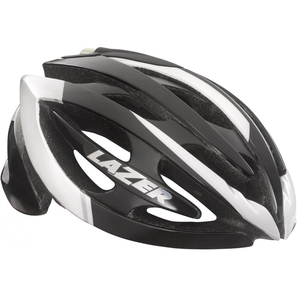 2015 Lazer  Herren Genesis Helmet Weiß   schwarz Large 58-61cm