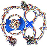 PetSuprise Large Dog Chew Toy XXL Dog Rope Toys for Large Dog Dog Toys for Large Aggressive Chewers Cotton Dental Teaser Rope Chew Teeth Cleaning Toys for Large Dog