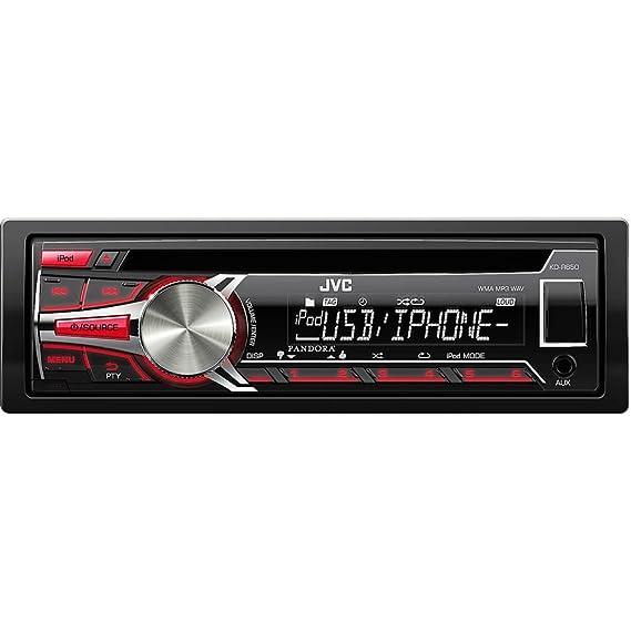 0eeedec4afb Amazon.com  JVC KD-R650 In-Dash CD MP3 WMA Car Stereo Receiver w ...